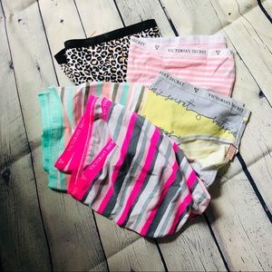 Lot of high leg Victoria secret panties